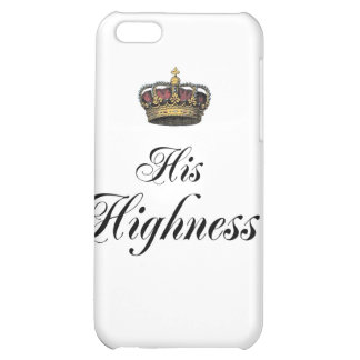 His Highness (part of his and hers set) Cover For iPhone 5C