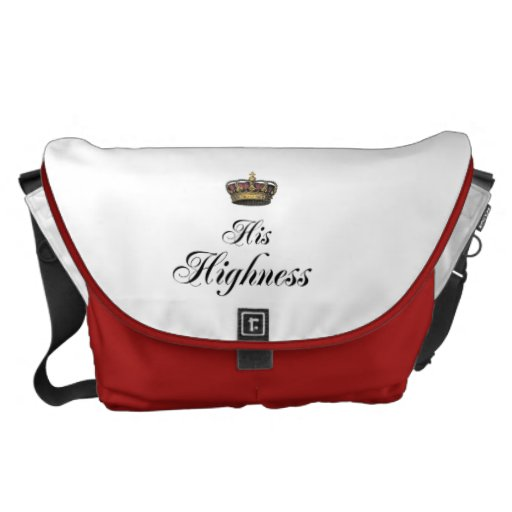 His Highness (part of his and hers set) Courier Bags