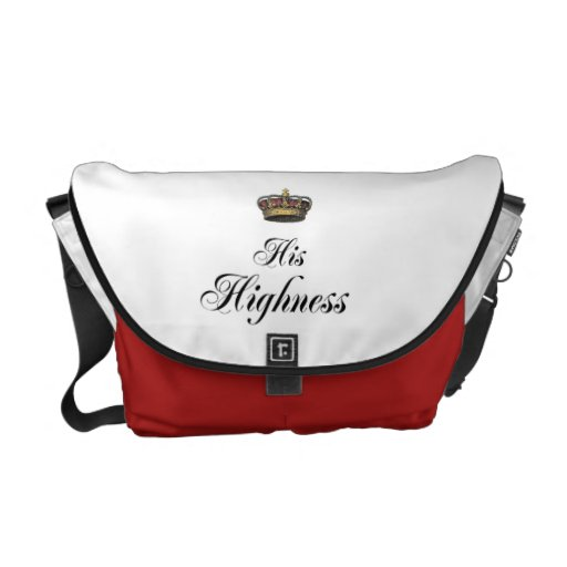 His Highness (part of his and hers set) Messenger Bags