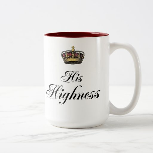 His Highness (part of his and hers set) Mugs
