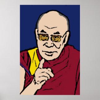 His Holiness the Dalai Lama Poster