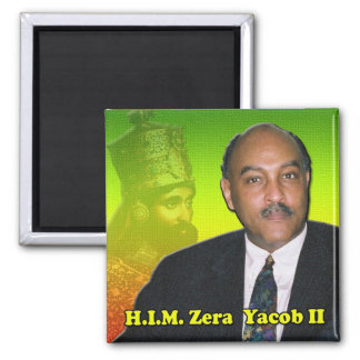 His Imperial Highness Crown Prince Zera Yacob II Magnet