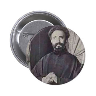 His Imperial Majesty Qedamawi Haile Selassie 2 Inch Round Button