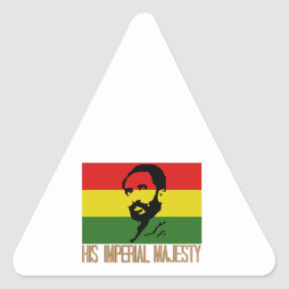 His Imperial Majesty Triangle Sticker