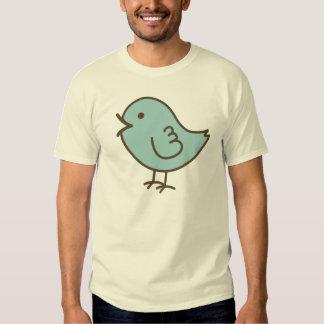 His Little Blue Love Bird Vector Art Shirt