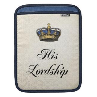His Lordship iPad Sleeve