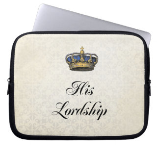 His Lordship Laptop Sleeve