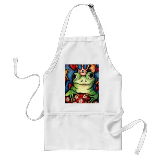 His Majesty The Frog Prince Aprons