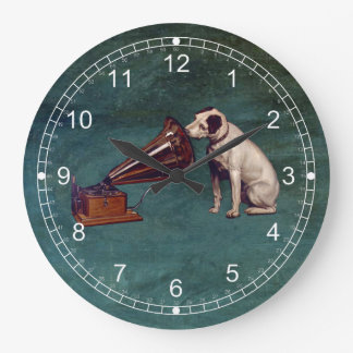 His Master's Voice Father's Day Clocks
