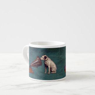 His Master's Voice Father's Day 6 Oz Ceramic Espresso Cup