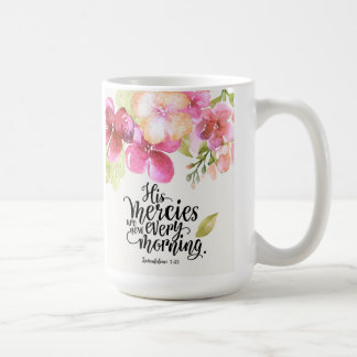 His Mercies Classic 15 oz. Mug