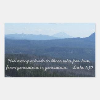 His mercy sticker