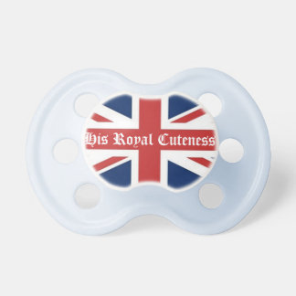 His Royal Cuteness Pacifiers