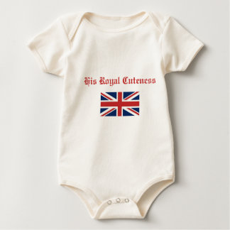 His Royal Cuteness Rompers