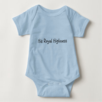 His Royal Highness Baby Bodysuit