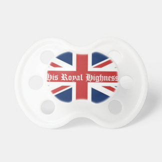 His Royal Highness Baby Pacifier Pacifiers