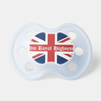 His Royal Highness Blue Pacifier