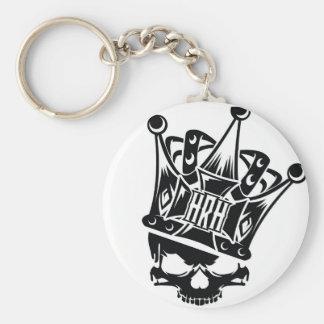 His Royal Highness Logo Basic Round Button Keychain