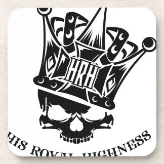 His Royal Highness Logo Beverage Coaster