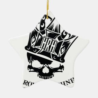 His Royal Highness Logo Ceramic Star Ornament