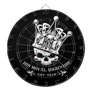 His Royal Highness Logo Dart Board