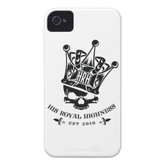 His Royal Highness Logo iPhone 4 Covers