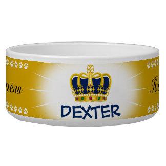 His Royal Highness Pet Food Bowls