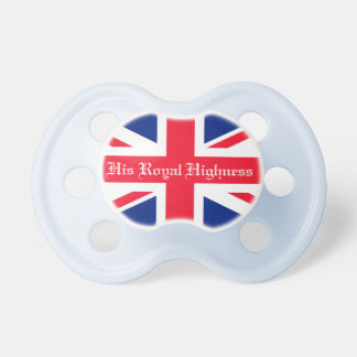 His Royal Highness Royal Baby Baby Pacifiers