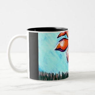 His Spirit Two-Tone Coffee Mug