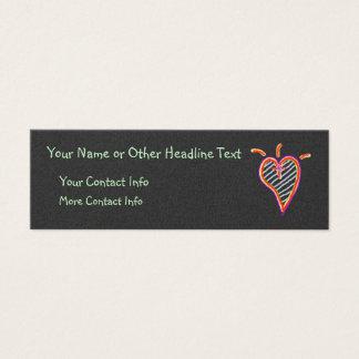 His ~ template mini business card