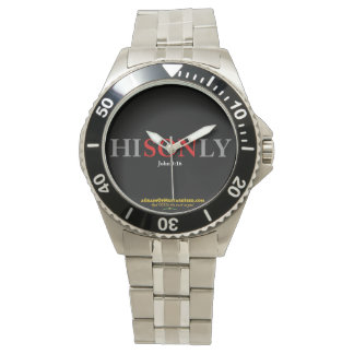 HISONLY Agrainofmustardseed.com Wristwatch
