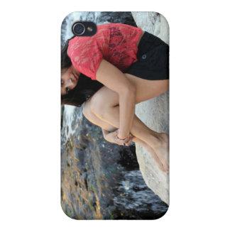 Hispanic Woman Creek iPhone 4 Cover