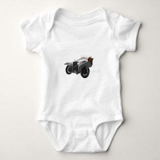 Hispano Suiza Closeup Baby Bodysuit