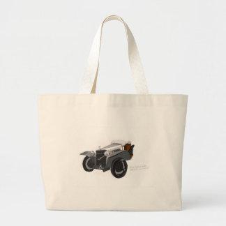 Hispano Suiza Closeup Large Tote Bag