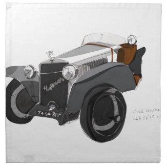 Hispano Suiza Closeup Napkin
