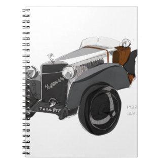 Hispano Suiza Closeup Notebook