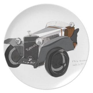 Hispano Suiza Closeup Plate