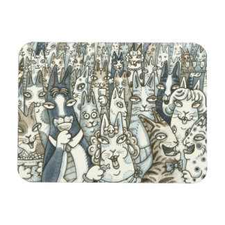 Hiss N' Fitz CAT PARTY MAGNET *Customize