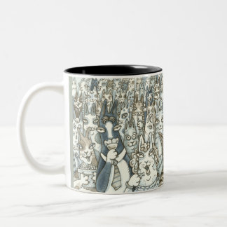 Hiss N' Fitz CAT PARTY MUG