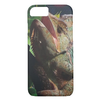 Hissing Chameleon iPhone 7 Case