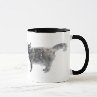 Hissy Cat Mug
