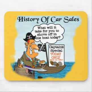 Histoire de la voiture Sales2 Tapis De Souris