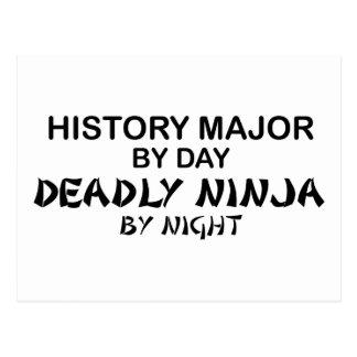 Histoire Ninja mortel principal Cartes Postales