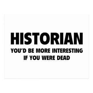 Historian Postcard