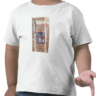 Historiated initial 'D' depicting a marriage Tee Shirts