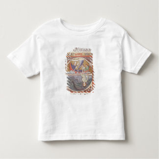 Historiated initial 'E' depicting Jonah Shirt