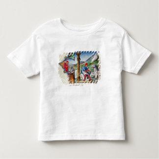 Historiated initial 'L' T-shirt