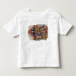Historiated initial 'N' depicting sheep Toddler T-shirt