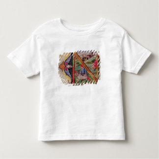 Historiated initial 'N' depicting sheep Tshirts