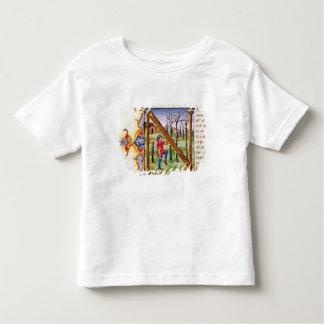 Historiated Initial 'N' Tee Shirts